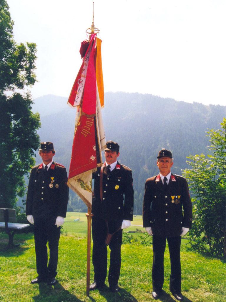 Fahnenabordnung 2002